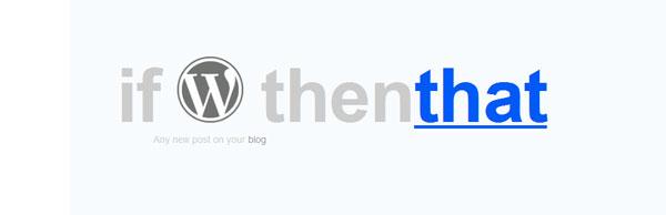 IFTTT tutorial