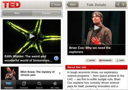 TED Talks na iPod / iPhone