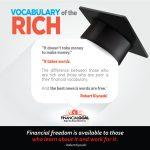 Osiągnij wolność finansową poznając kilka słów