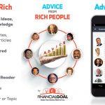 Porady od ludzi bogatych – Android App